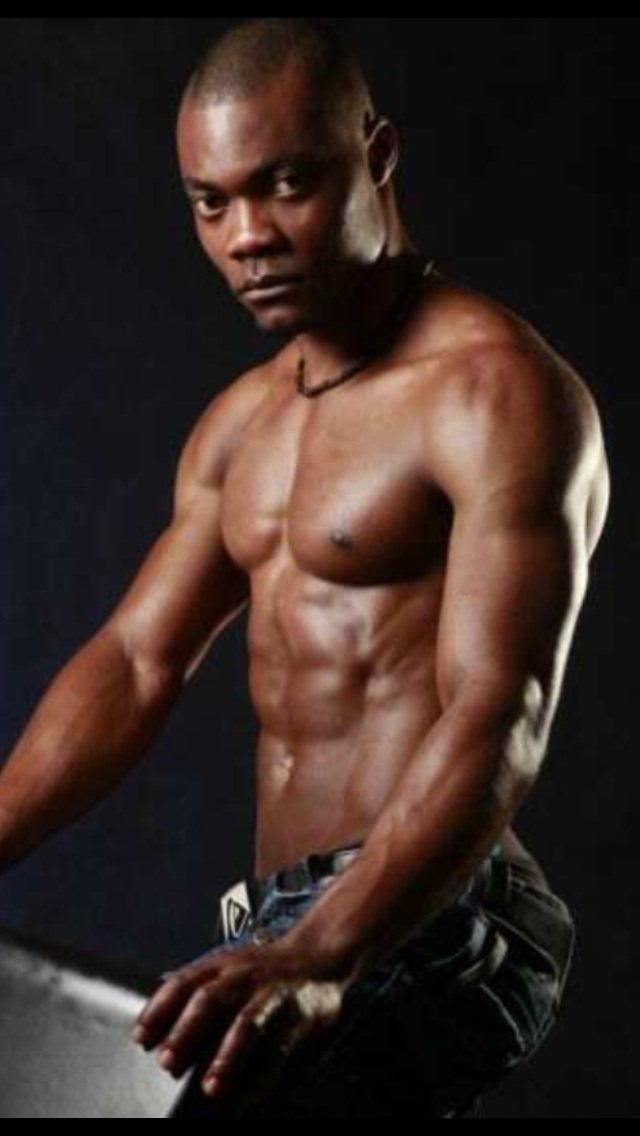 This Dark Skinned Muscle Man Can Entertain At Your Melbourne Party Melbournes Only Black Male Stripper Book In Advance For Your Hens Party