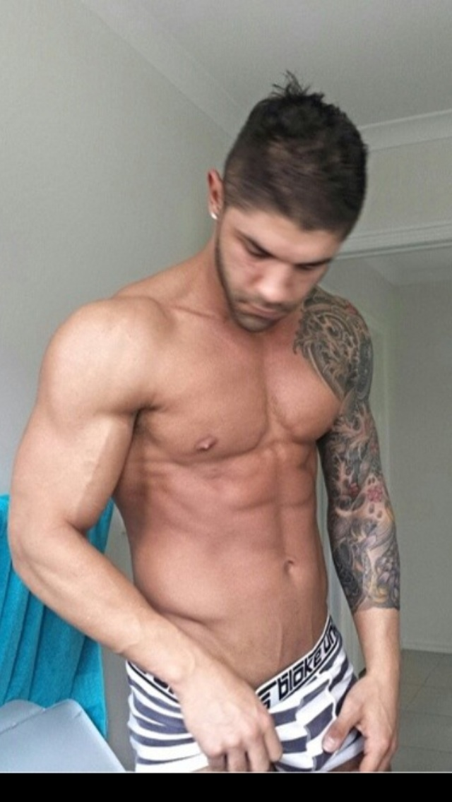 Peter - topless waiter
