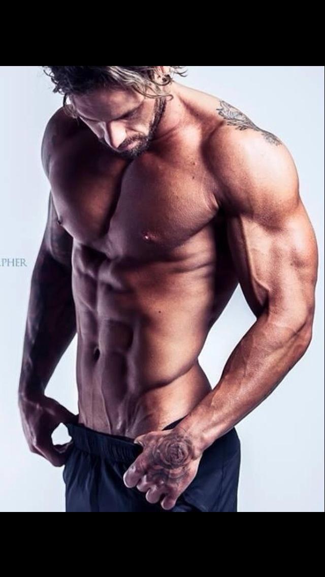 Derrick topless waiter