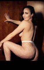 Ginger Stripper & topless waitress